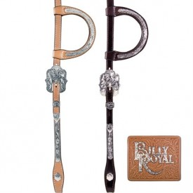 Billy Royal® Engraved One Ear Headstall