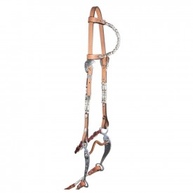 Double S Cody One-Ear Double Ferrule Headstall