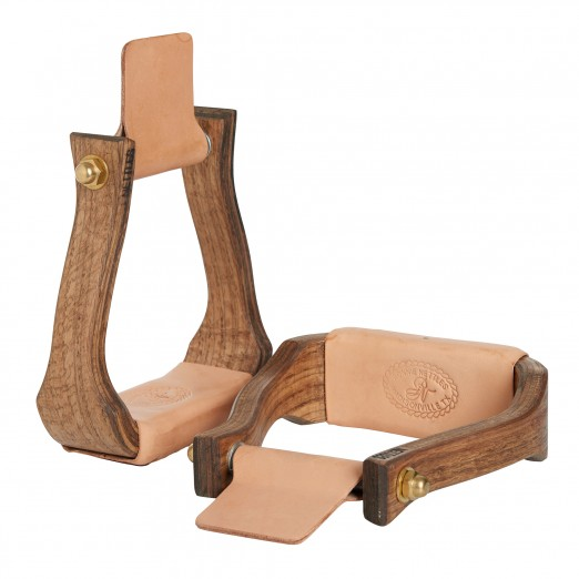 """Nettles Stirrups 2"""" Halfbreed Stained"""