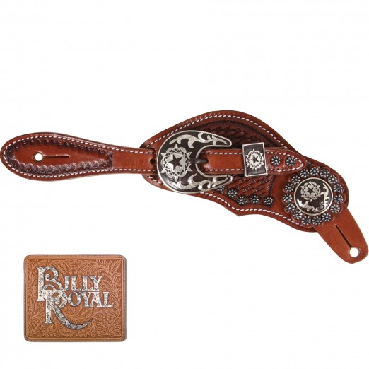 Billy Royal® Bling Stars with Studs Spur Straps
