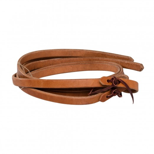 "3/4"" Harness Leather Reins"