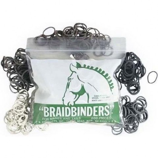 Braid Binders / Mähnengummis