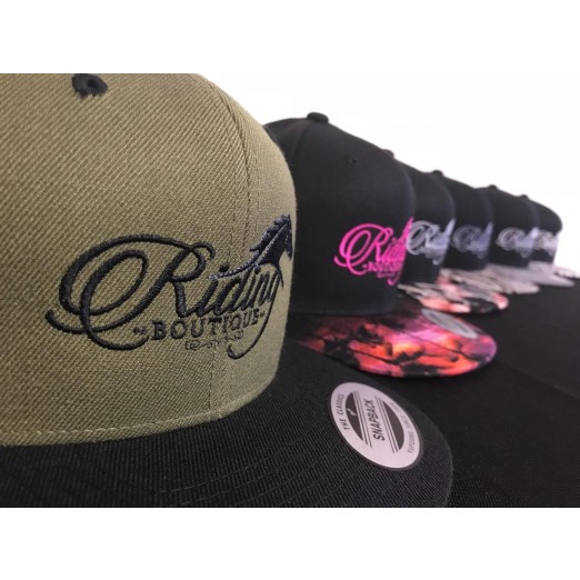 Visor Snapback Caps by Riding Boutique