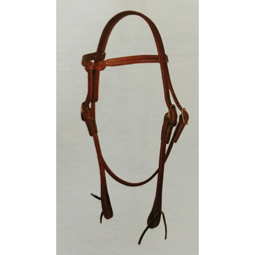 Knotted Browband Headstall