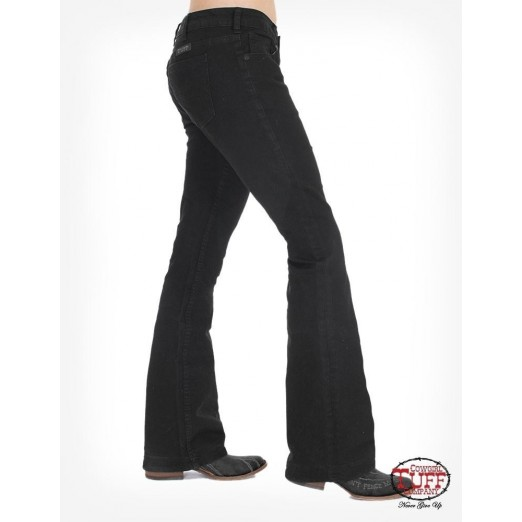 Just Tuff Black Trouser