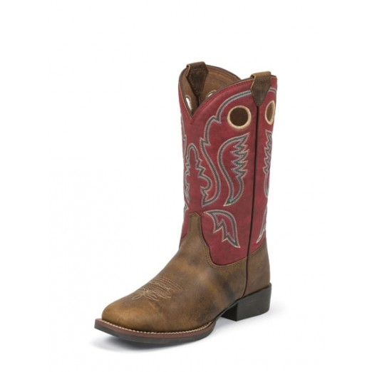 Justin Boots Kids Arizona Buffalo