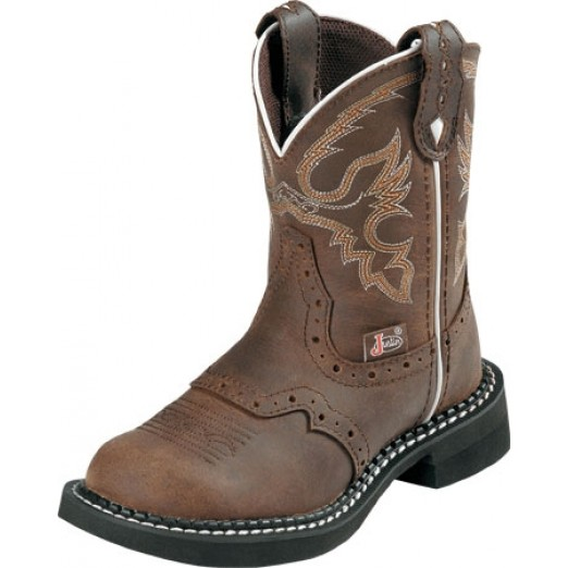 Justin Boots Kids Nuri brown