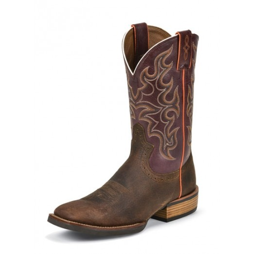 Justin Boots Mens Copper Kettle Cow