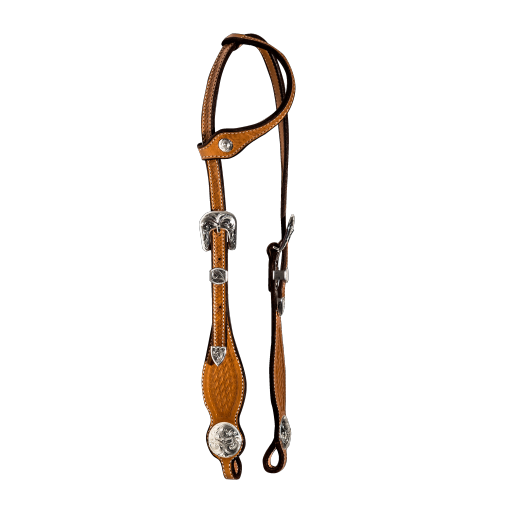 Silver Basket Show Headstall