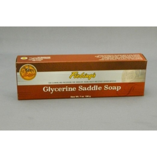 Fiebings Glycerine Saddle Soap Bar