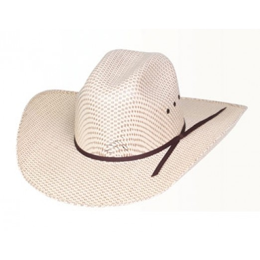 Rodeo King Spotted Sheridan Straw Hat